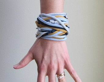 AnnDora - Recycled T-shirt Necklace or Bracelet