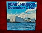 PEARL HARBOR December 7, 1941 - Vintage Vinyl GATEfold Record Album