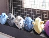Cinq souris troupes Cataire bio chat jouet