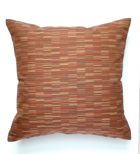 Throw Pillow Rust : Lumbar Pillow Rust Pillow Oblong Throw Pillow by couchdwellers