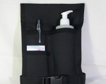 Made to Order - 3 Pocket Massage Holster with belt (Any COLOR)