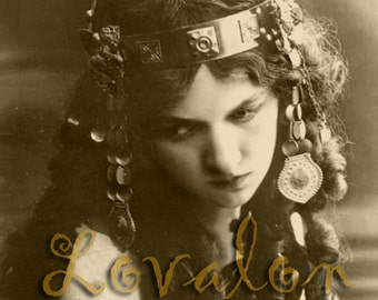 Gypsy Wedding Ring... Deluxe Print... 1920's Vintage Fashion Glamour Photo... Available In Various Sizes