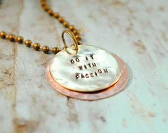 SALE Do It With Passion Necklace