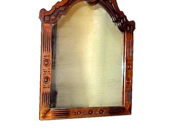 Antique Mirror Eastlake Aesthetic 19th Century