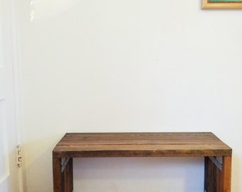 Custom Handmade Wood Bench - Made to Order (from selections)