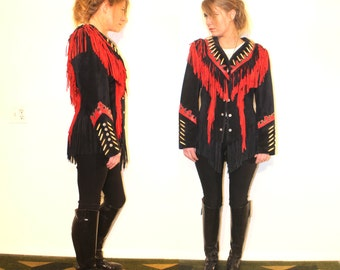 Amazing Fringe Warrior Jacket Medium