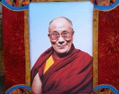 His Holiness the 14th Dalai Lama Icon Religious Art Spiritual Art Tibetan Buddhism Buddhist Art Meditation Yoga