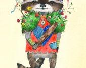 Animal Battle // Battle Raccoon