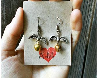 Golden Snitch Bell Earrings