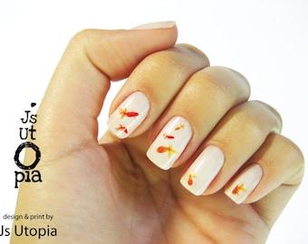 Goldfish Nail Sticker