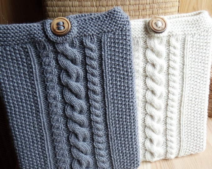 I-BAGGIE - iPad Case Cover Sleeve / Kindle Cover / Tablet Cover / tablet cozy - Wool & Alpaca - other colors made to order