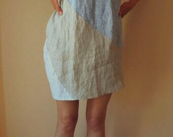 Kleid aus russischem leinen größe s m