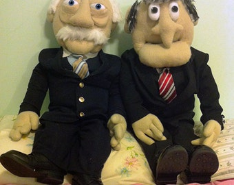 Statler and Waldorf dolls