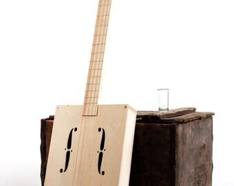 Drummond & Hammett 'BuildYourOwn' Cigar Box Guitar Kit (Bottle-Slide Starter Kit)