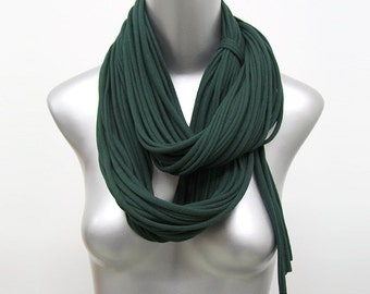 Green Scarf, Chunky Green Scarf, Green Chunky Scarf, Large Green Scarf, Green Large Scarf, Dark Green Scarf, Green Scarves, Gift For Her