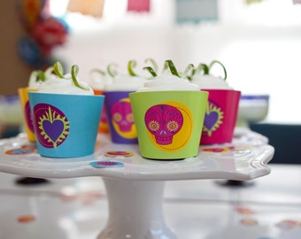 Fiesta PRINTABLE Party Collection - You Customize EDITABLE TEXT >> Instant Download | Paper and Cake