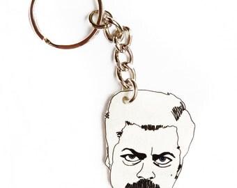 A Simple Man Keychain