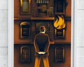 Mr. Fire fine art Giclee print