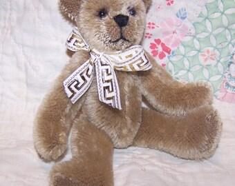 Joshua- OOAK Mohair Teddy Bear