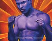 Muhammad Ali 12x15 Archival Print