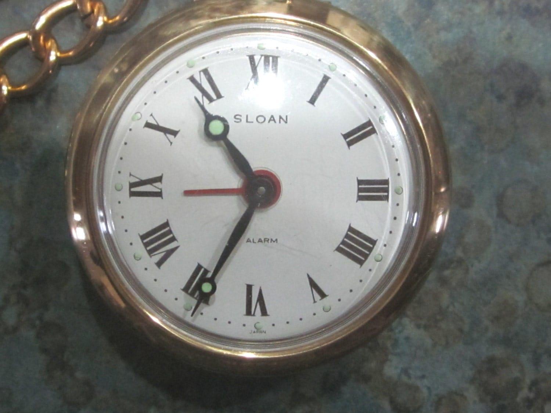 Alarm pocket watch vintage