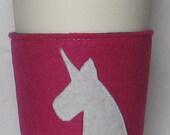 Unicorn Coffee Sleeve by AmyD