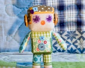 "Cross Stitch Pattern Doll ""CHLOE"" PDF"