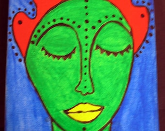 SALE WAS 50.00 Christie-Original Acrylic Painting On Gallery Wrapped Canvas