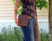 Custom Faux Leather Hip Bag