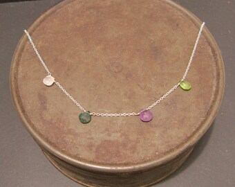 Birthstone Jewelry, Family Necklace, Mother's Necklace, Birthstone Mother's Day Jewelry, New Baby Jewelry, New Mommy Jewelry