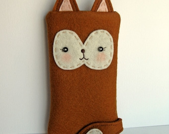 Foxy Little iPhone Cozy - Made to Order