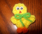 Easter or Spring Chick, Hand Crochet - Any Color Combination you want