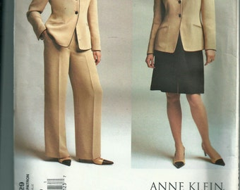 Vogue Misses' Jacket, Skirt and Pants Pattern 2729