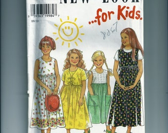 New Look Dress and Jacket Pattern 6619