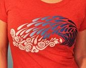 Crashing Wave Women's Tshirt