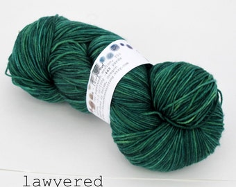 lawyered - terra sock (dyed to order, out of stock)