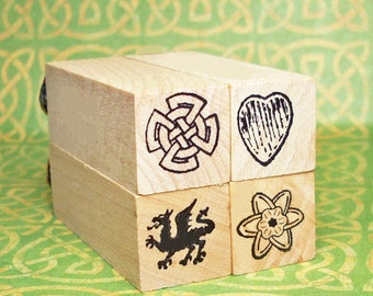 Symbols of Wales Boxed Mini Stamp Set