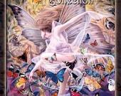 Fantasy Art Collection Hardcover Book - Fairy Art Molly Harrison - Coffee Table Art Book - Fairy Book