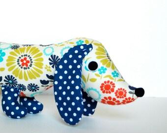 Stuffed Animal Plush Wiener Dog Dachshund Soft Baby Toy Doll IDA
