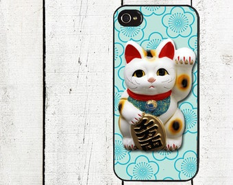 iphone 6 case Lucky Cat (Maneki Neko) Cell Phone Case- for iPhone 4,4s  iphone 5 case Galaxy s3 s4 s5