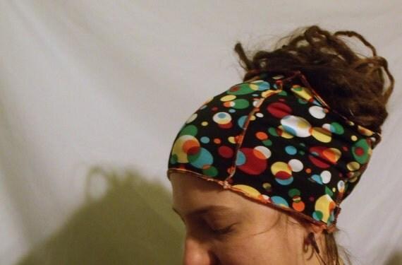 Headband Cowl Hair Wrap Hair Tube Buff Bright