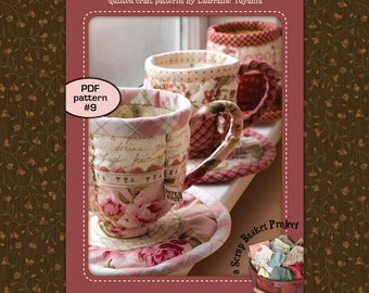 Quilted Teacup