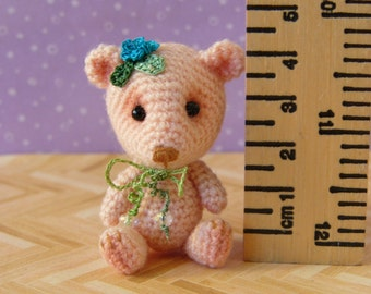 PDF PATTERN - Amigurumi Crochet Tutorial Pattern Miniature Primulina Bear