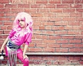 D-Jenn Halloween/Cosplay Jem and The Holograms Costume Made to Order CHILDREN