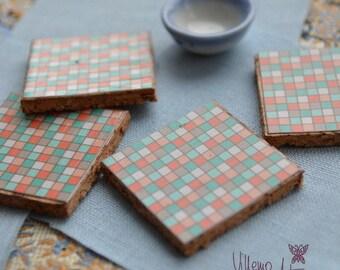 Dollfie Mini Coasters - Set  T003