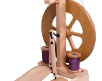 New Ashford Kiwi 2 Spinning Wheel W built in Lazy Kate Unfinished