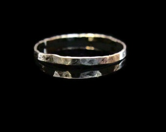 sterling silver skinny stacking ring - one (1)