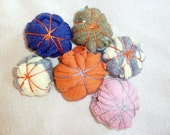 Cashmere laundry dryer balls Eco Friendly Colorful Fun Gift Ornament Recycled just 1 dollar each