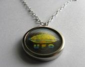 ON HOLD for Mary : You Are Out of This World Vintage Charm Necklace