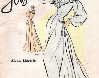 Vintage ladies  Lingerie Fashion Catalogue Jolymode 1950s Resource  Interest